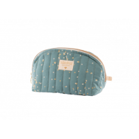 Trousse de toilette Holiday gold confetti/ magic green Nobodinoz
