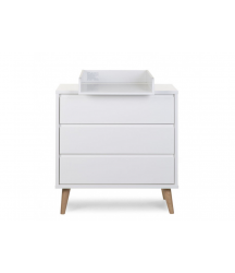 RETRO RIO WHITE COMMODE 3T+ PLAN A LANGER Childhome
