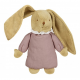 Bunny musical lin old pink25cm Trousselier