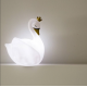 DAME BLANCHE  Veilleuse LED Cygne
