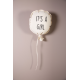 Ballon en toile déco- it's a boy or it's a girl Childhome