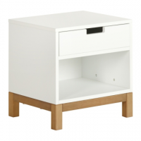 Table de nuit Indigo-white QUAX