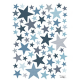 Sticker étoiles bleue My SuperStar stone blue