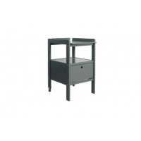 TABLE A LANGER CINDY + TIROIR MOON GREY SOFTCLOSE Pericles